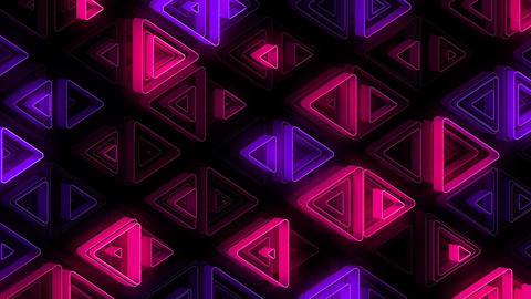 Neon Pattern 002 B Alternate Strength GSC Animation