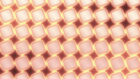 Moving Glow Grid - Abstract Background - red CG動画素材