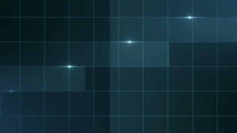 Simple Lines - Abstract Background - blue Animation