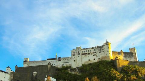 Salzburg Castle Footage