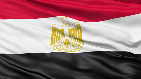 Flag of Egypt Animation