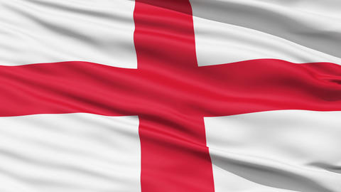 Flag of England Stock Video Footage