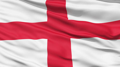 Flag of England Animation