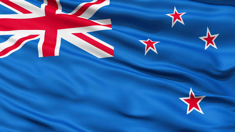 The New Zealand Flag Animation