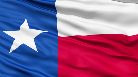 The State of Texas Flag Animation