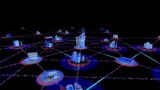 Network City 2a HD stock footage