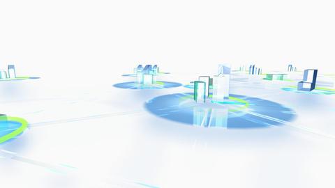 Net City 3fw HD Animation