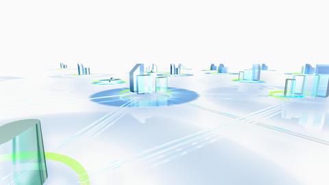 Net City 3fw HD Stock Video Footage
