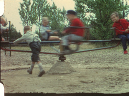 Merry-go-round (8mm-film) Footage