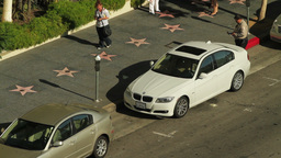 Hollywood Boulevard Parking Ticket Stock Video Footage