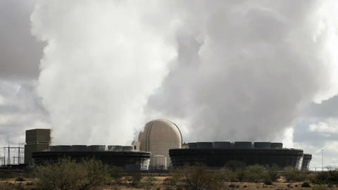 Nuclear Power Station Live Action