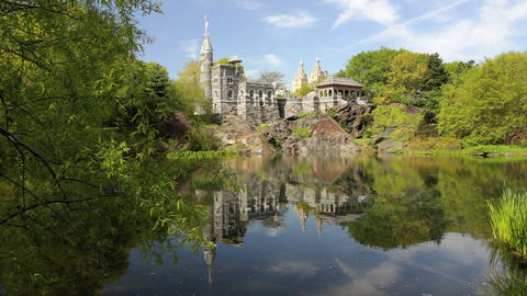 Belvedere Castle Stock Video Footage