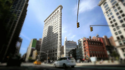 Flatiron Building Stock Video Footage