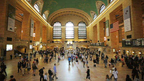 Grand Central Station Stock Video Footage