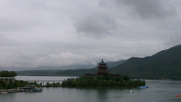 In the Mountains in China 01 Stock Video Footage