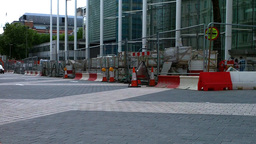London Street Under Construction 05 Stock Video Footage