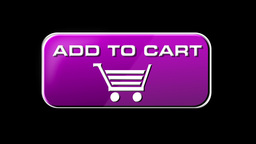 Online Shopping Add To Cart 05 pink LOOP Stock Video Footage