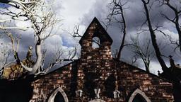 Scary Scene Halloween 01 Stock Video Footage