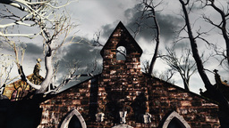 Scary Scene Halloween 03 Animation