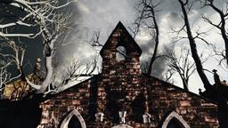 Scary Scene Halloween 03 Stock Video Footage