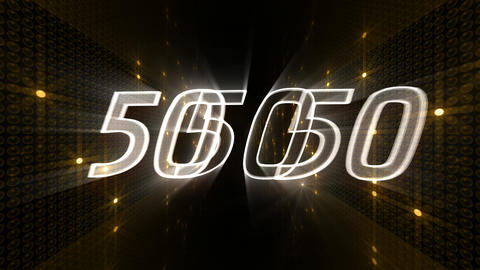 Countdown A60c Stock Video Footage
