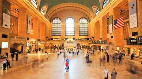Grand Central Station, Time Lapse Footage