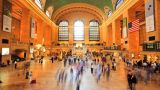 Grand Central Station, Time Lapse stock footage