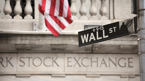 Wall Street Stock Video Footage