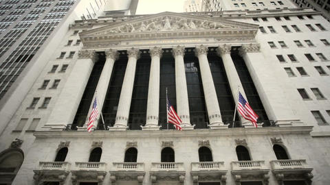 New York Stock Exchange Stock Video Footage