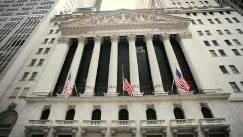 New York Stock Exchange Stock Video Footage
