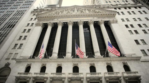 New York Stock Exchange Footage