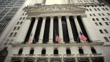 New York Stock Exchange stock footage