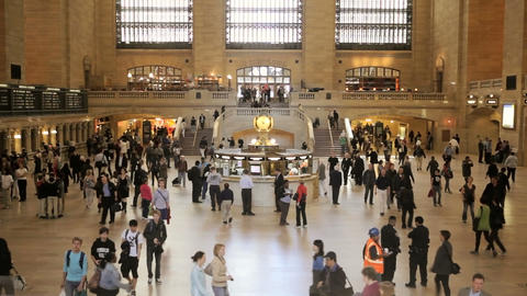 Grand Central Station, Time Lapse Stock Video Footage