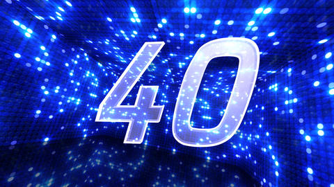 Countdown A60e HD Stock Video Footage