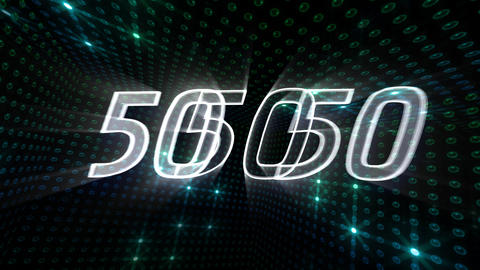 Countdown A60g Stock Video Footage