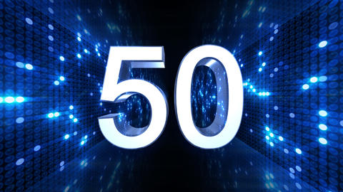 Countdown B60a HD Stock Video Footage