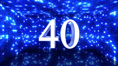 Countdown E60a HD Stock Video Footage