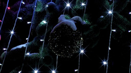 christmas light 05 Stock Video Footage