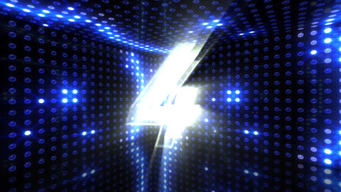 Countdown A10b HD Stock Video Footage