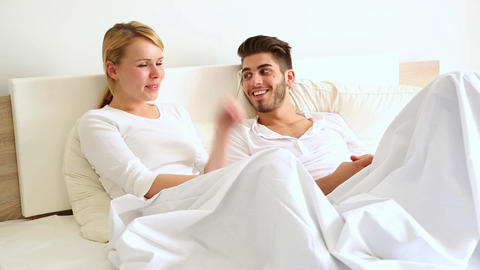 Conversation in Bed Footage