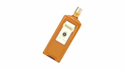 Whisky bottle Animation