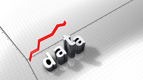 Growing chart graphic animation, Data Animation