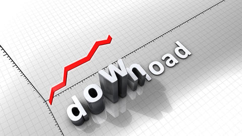 Growing chart graphic animation, Download Animation