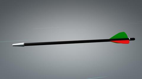 On target arrow, concept animation Animation