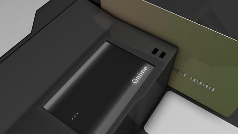 Verifying credit card Animation