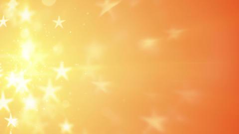 orange stars bokeh shallow DOF loopable background Animation