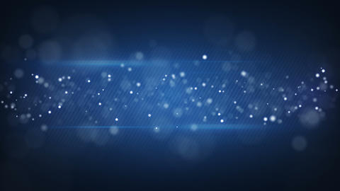 bokeh circles on blue striped background loopable Animation