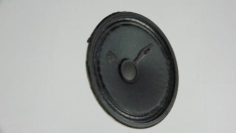Speaker, loudspeaker. 4K Footage