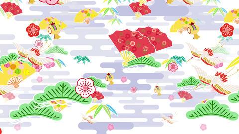 Japanese Pattern Engimono B 1 4k Animation