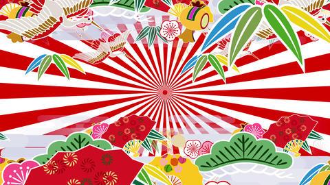 Japanese Pattern Engimono As 1rw 4k Animation